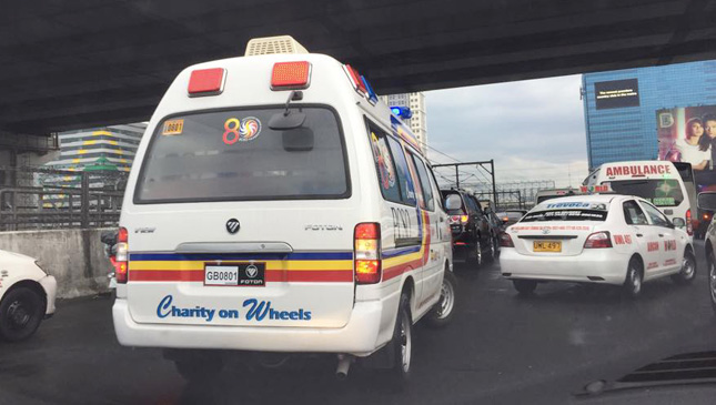 Ambulance in the Philippines