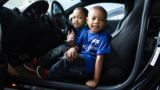 Make-a-Wish at Peugeot Philippines