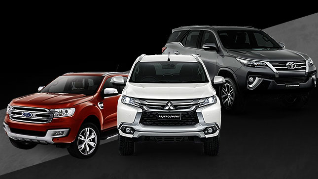 Midsize SUV battle