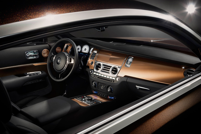 Rolls-Royce Wraith 'Inspired by Sound'