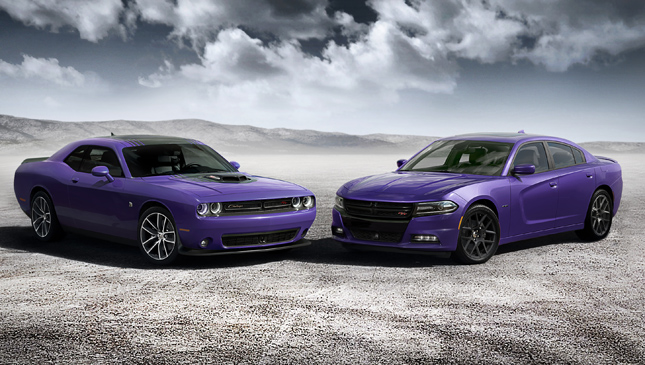 Dodge Plum Crazy editions