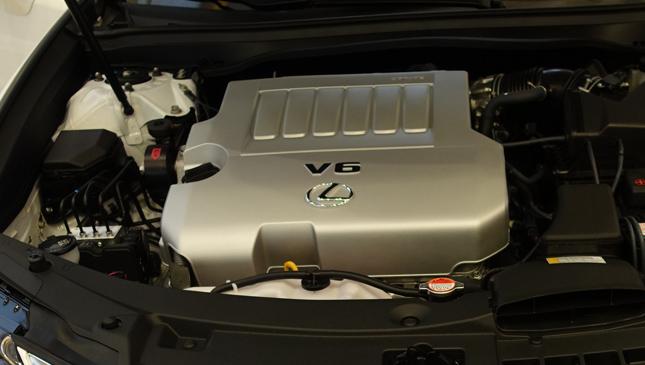 Lexus ES facelift