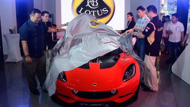 Lotus Cars Manila launch