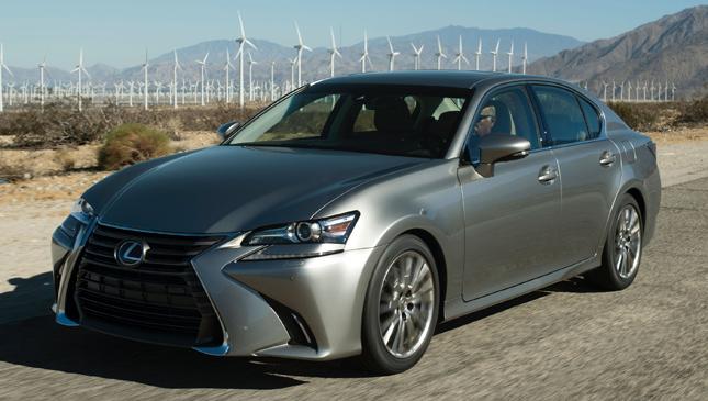 Lexus GS facelift