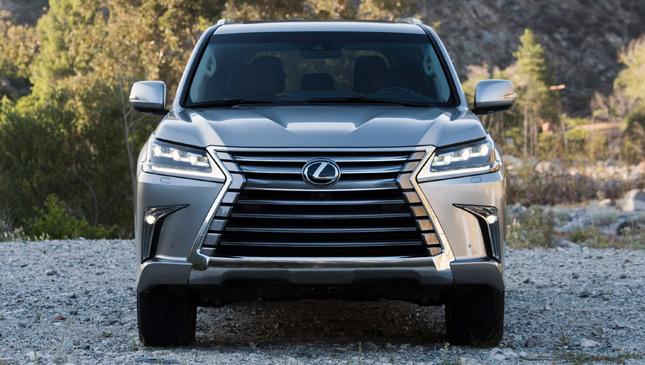 Lexus LX facelift
