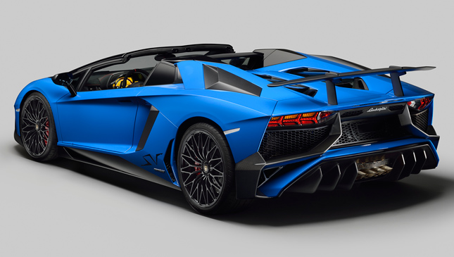 Feast Your Eyes On The Lamborghini Aventador Lp750 4 Sv Roadster