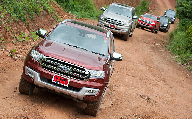 Ford Everest in Thailand