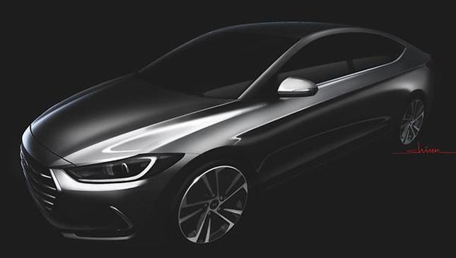 Hyundai Elantra teaser