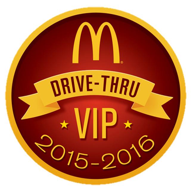 McDonald's VIP sticker