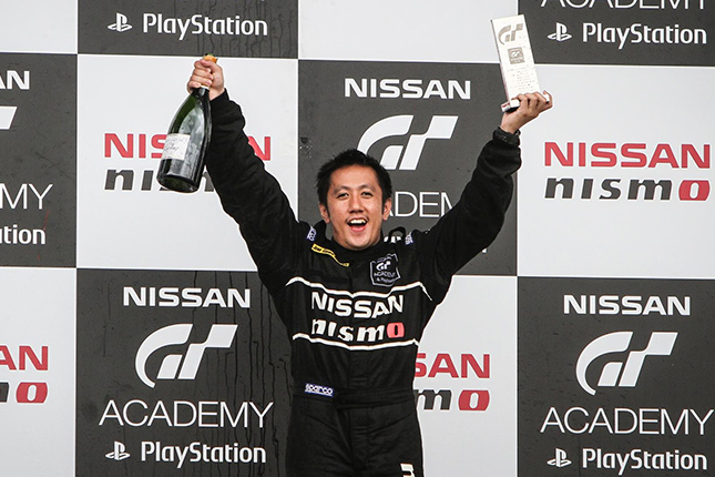 Nissan GT Academy winner Joward Policarpio
