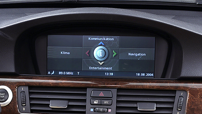 BMW iDrive hack