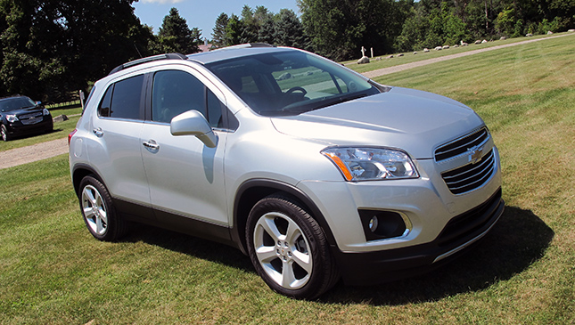 Chevy Suv Models >> Chevrolet PH to introduce Trax subcompact crossover SUV in October