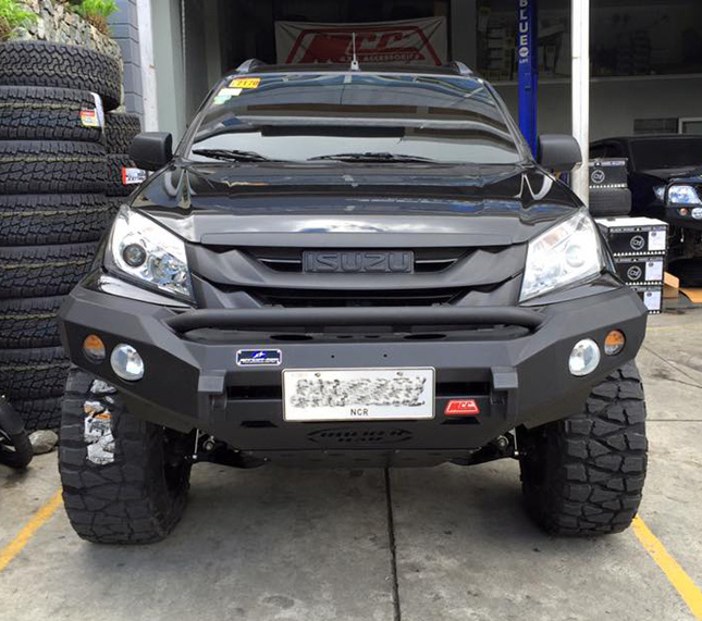 Isuzu Mux 2018 Price Philippines >> Doug Kramer's Isuzu MU-X is the most badass SUV out there