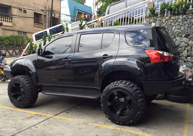 Doug Kramer S Isuzu Mu X Is The Most Badass Suv Out There