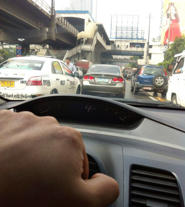 Traffic is fatal in the Philippines