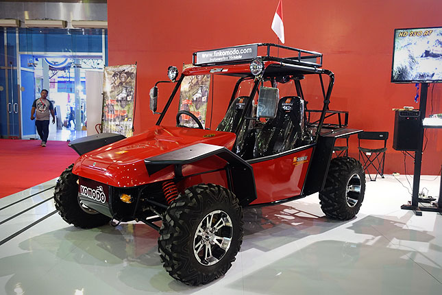 FIN Komodo, Indonesian-made buggy