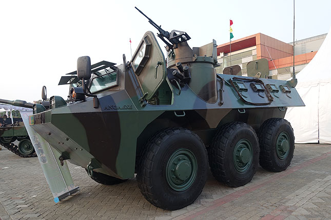Anoa 6x6 armored personnel carrier