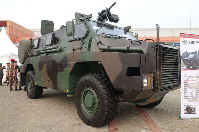 Bushmaster - Indonesia