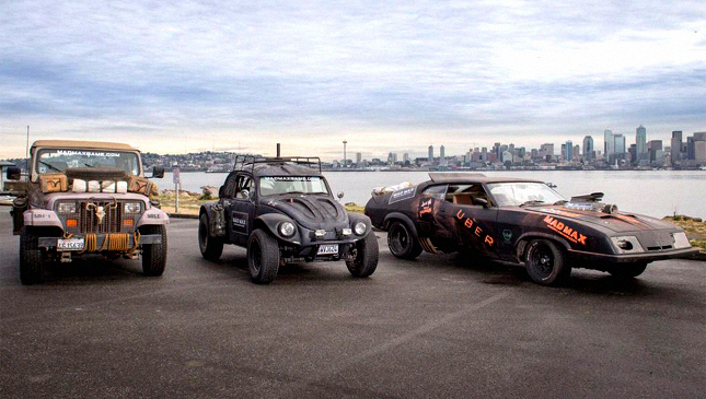 Mad Max Uber vehicles