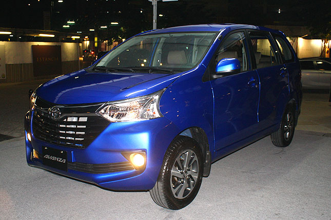 Refreshed Toyota Avanza