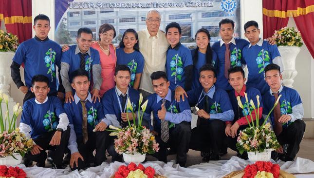 Isuzu Tesda graduates