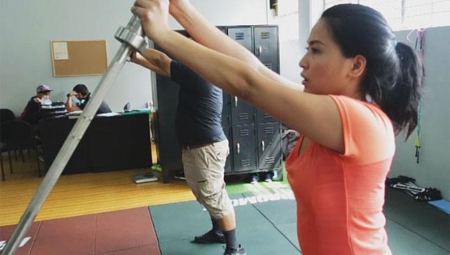 Joyce Pring Vios Cup workout
