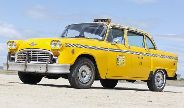 Checker A11 taxi