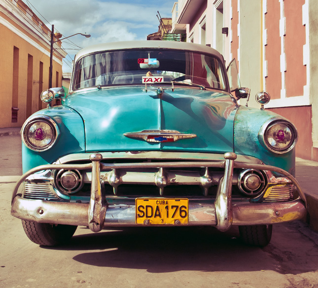 Cuba taxi