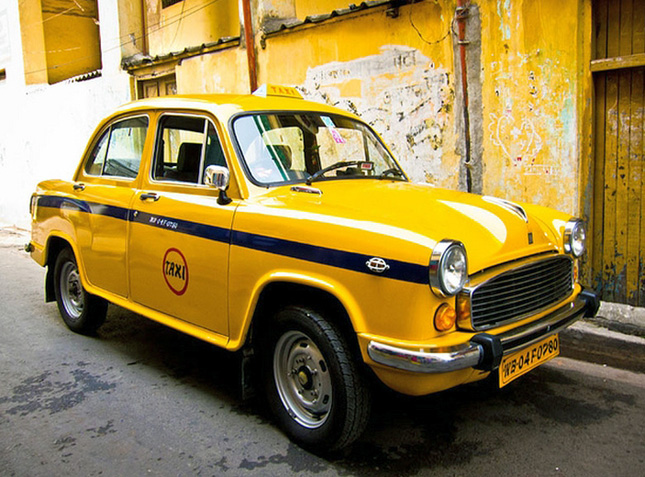 Hindustan Ambassador taxi