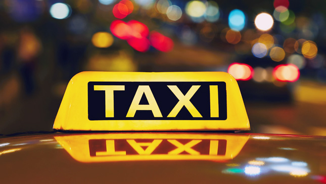 Iconic taxicabs