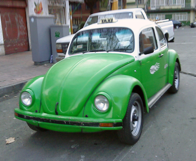 Volkswagen Beetle taxi