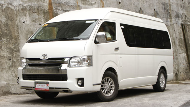 Toyota Hiace Super Grandia Lxv Photos Price