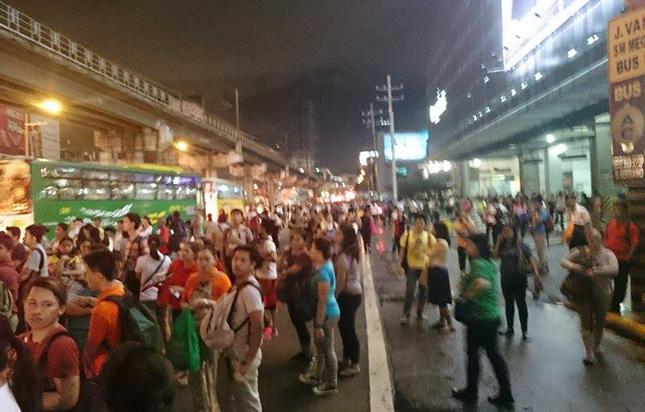 September 8, 2015, Metro Manila traffic