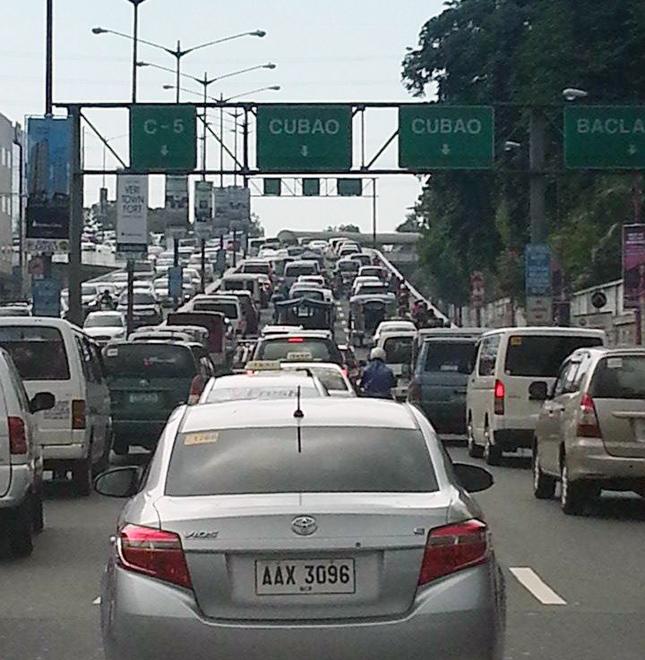 Driving in Metro Manila