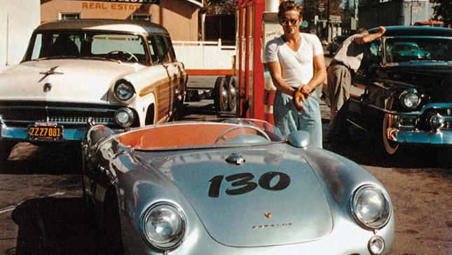 James Dean's Porsches