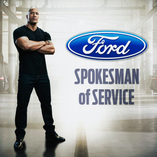 Dwayne 'The Rock' Johnson for Ford