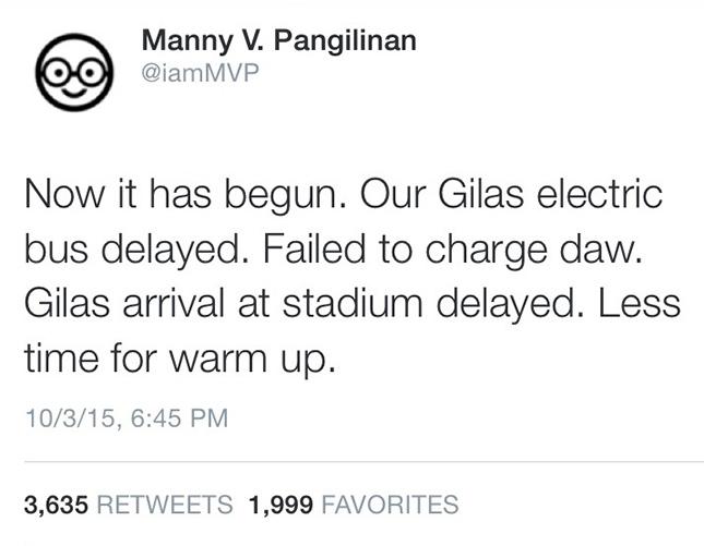Manny V. Pangilinan tweet