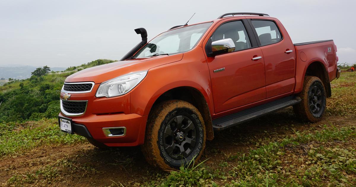 Chevrolet Colorado Tracker Edition Top Gear Philippines