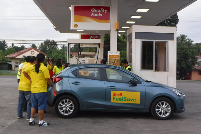 Shell FuelSave event