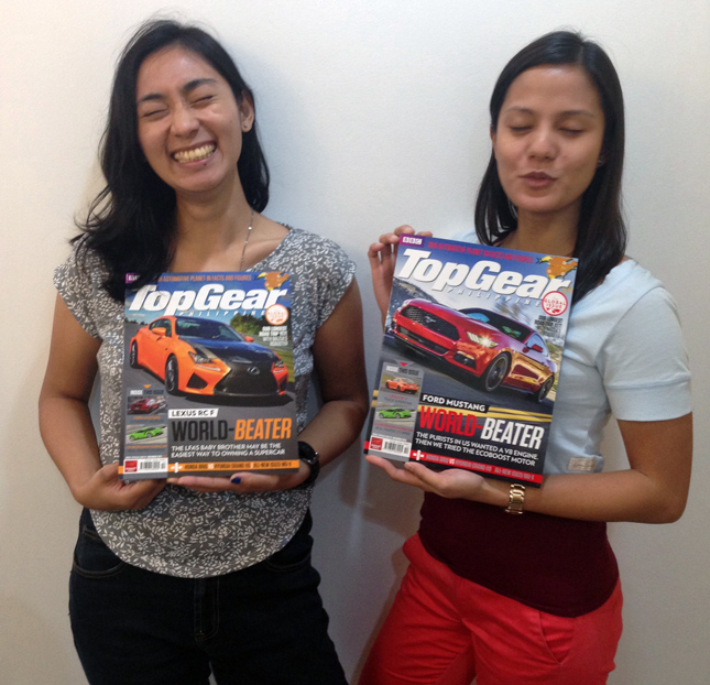 Top Gear PH office crushes