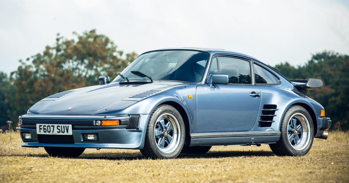 Collector S Item Fancy A Rare Porsche 930 Flatnose