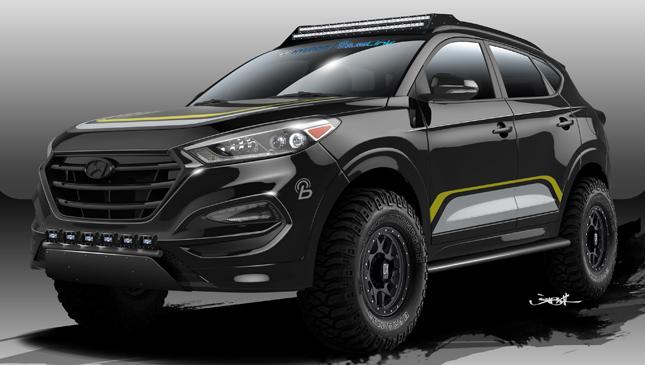 Hyundai Tucson RPG