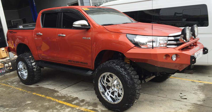 The Very First Modified All New Toyota Hilux In Ph