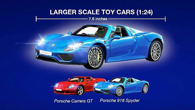 Type Of Car Oil >> Petron offers Porsche Carrera GT and 918 Spyder die-cast toy cars