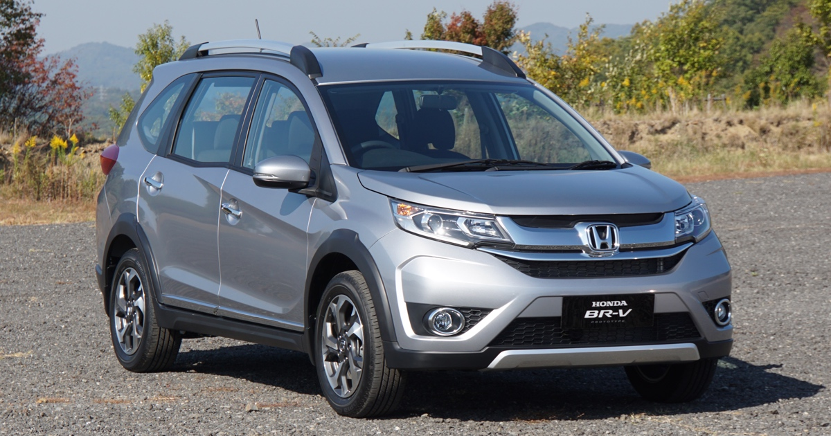 Our first impressions of the Honda BR-V