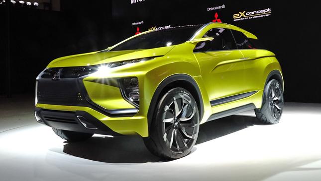 Mitsubishi eX Concept at Tokyo Motor Show