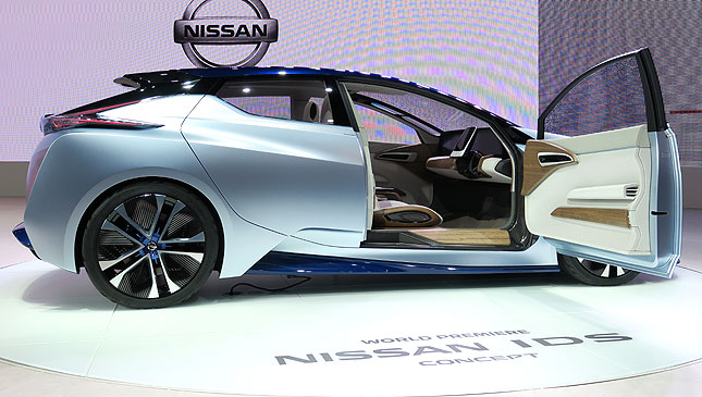 Nissan Promises Self Driving Cars In 2020 And This Ids Concept Is A