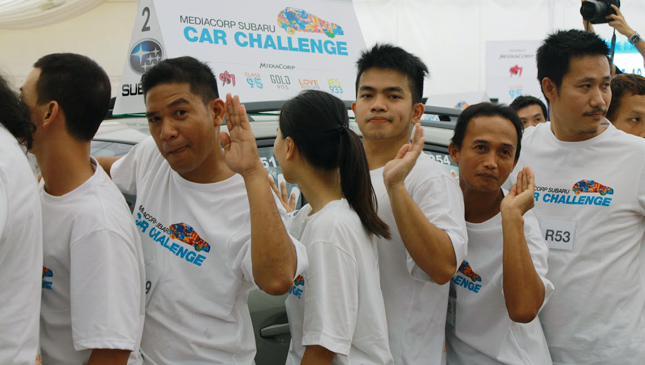 2015 Subaru Palm Challenge: Filipino participants