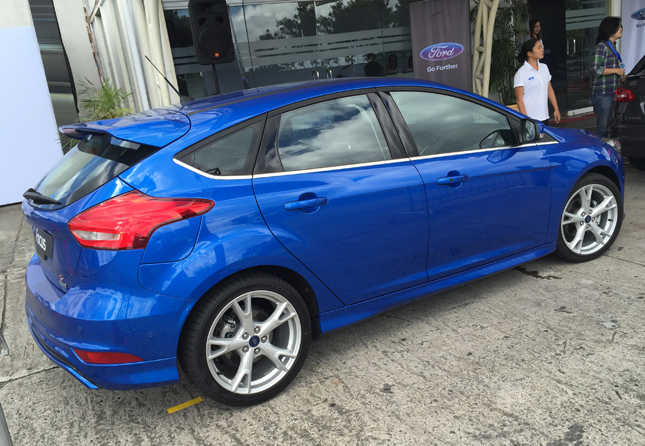 New Ford Focus hatchback