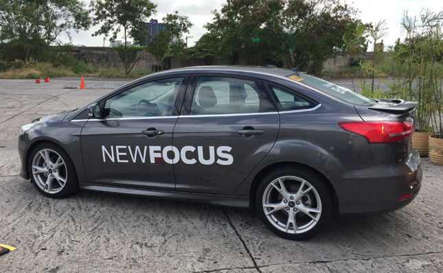 New Ford Focus sedan
